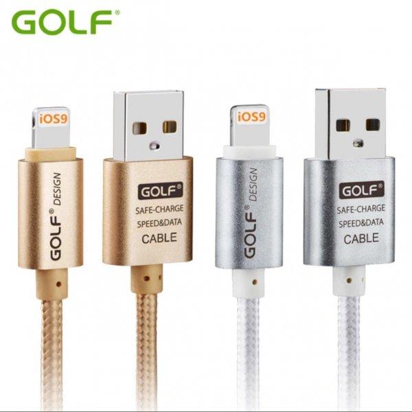 Lightning Kabel 1M, 2M, 3M Gold oder Silber Versandkostenfrei