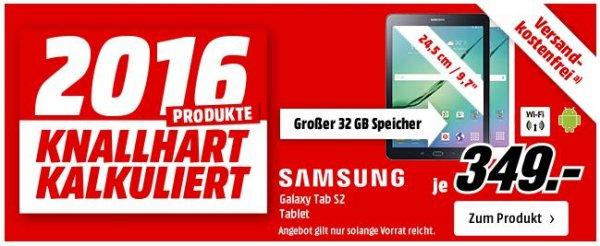 SAMSUNG SM-T810N Galaxy Tab S2 32 GB [MediaMarkt] 349,00€