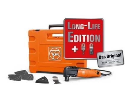 FEIN MultiTalent FMT 250 Q - Long-Life Edition - Universalwerkzeug zum Sägen und Schleifen, im Koffer @ allyouneed für 139,95€ inkl. Versand