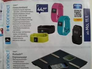[Aldi Süd] Fitness Armband und Bluetooth Diagnosewaage
