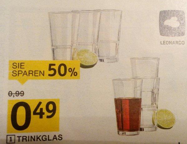 """[XXXL-Möbelhäuser] Leonardo Trinkglas """"Event"""" jetzt für 0,49€ pro Stück"""