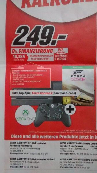 [lokal MM Mittelfranken] -Ergänzt- Diverse Angebote: Xbox One + Forza Horizon 2: 249€ - Bose Solo 5 179€, Trekstor Wintron Surftab inkl. Office 365 44€, Sonos Play:1 2 Room Starter Set fur 349€
