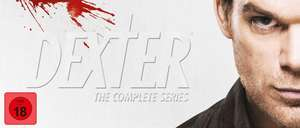 Dexter - The Complete Series Bloodslide Box 35 DVDs / Vorbestellung Amazon.de