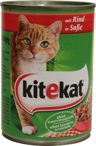 Fressnapf: Kitekat 400g Dose Katzennahrung versch. Sorten ab 4.01. für 0,35€