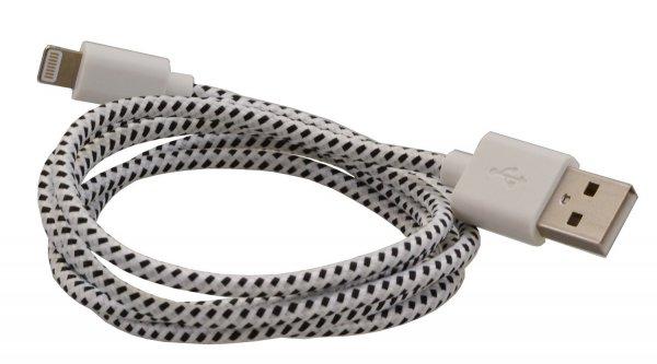 Textil-Lightning Kabel @Amazon.de für 1€