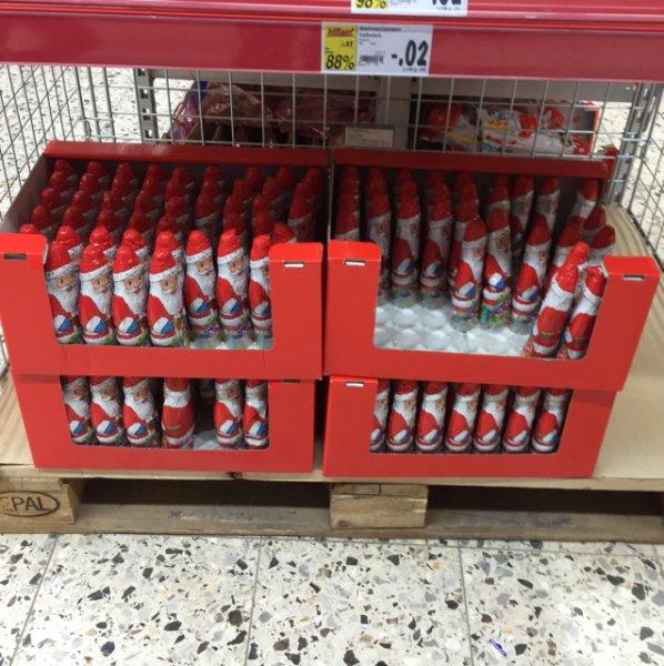 Lokal? Weihnachtsmänner in Kaufland für 0.02€!!