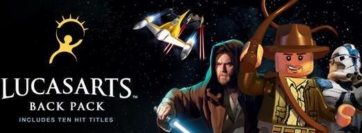 (Steam) LucasArts Back Pack Bundle: 9 Spiele direkt im Steam-Shop (u.a. 2x Indiana Jones, 3x Star Wars) jetzt € 21,21 statt € 79,91