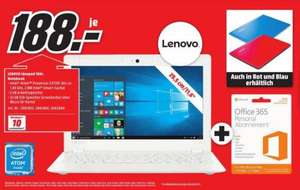 Lenovo Ideapad 100s Notebook in Weiss/Rot/Blau