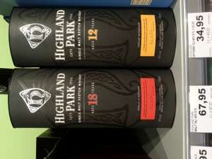 [lokal EDEKA center Braunschweig] Highland Park 18, Single Malt Whisky