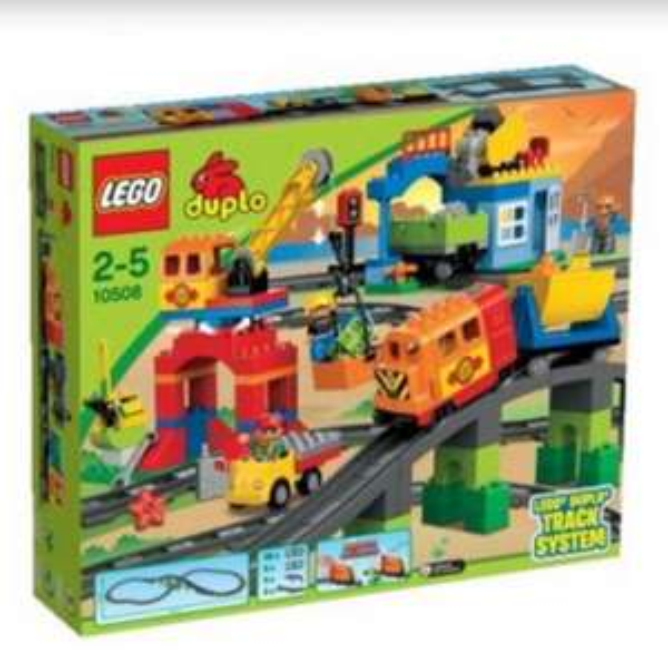 Müller-Onlineshop: Lego Duplo Eisenbahn Super-Set / Idealo 87,48 €