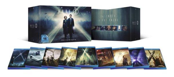 Akte X – Staffel 1-9 Komplette Box Collection Blu-ray Deutsch @ ebay (Deal vorbei)