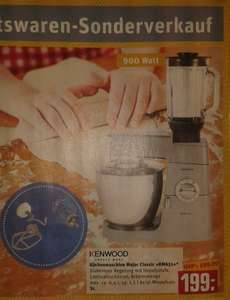 KENWOOD KM 631 Classic Major Küchenmaschine im Rewe Center nur 199,- EUR