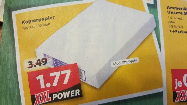 500 Blatt Kopierpapier Famila XXL Nordwest