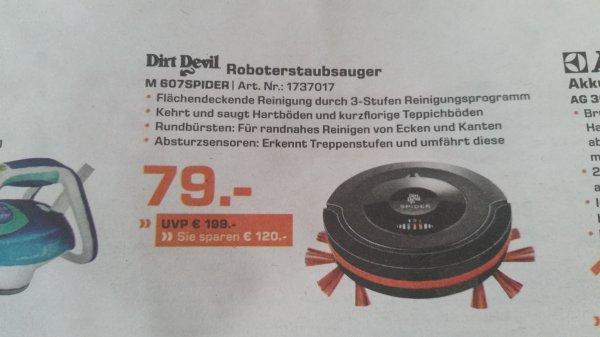 Dirt Devil Robotorstaubsauger M607 Spider (Lokal? Mönchengladbach)