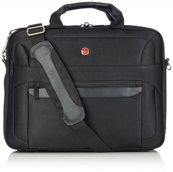[3% Qipu] Wenger W73012217 RV-Businesstasche mit Laptopfach 17 Zoll Basic, schwarz, 18 l für 59,95€ frei Haus @Dealclub