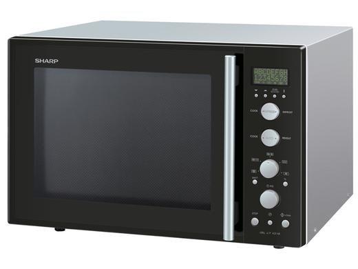 Sharp R-931BKW Kombi-Mikrowelle, 40 l, 2 Backbleche für 229,95€ zzgl. 8,95€ Versand @iBOOD