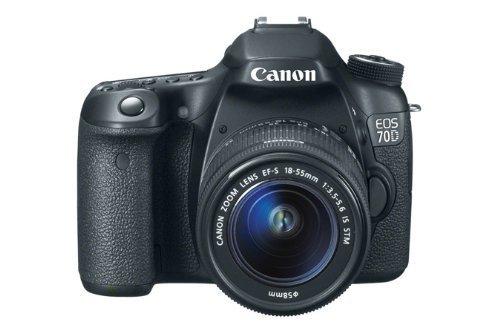 [Amazon.de] Canon EOS 70D SLR-Digitalkamera inkl. EF-S 18-55mm 1:3,5-5,6 IS STM 789€ Idealo ab 898€