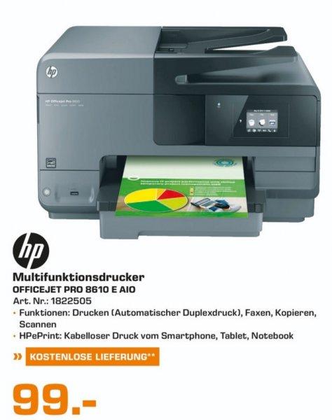 (Lokal)Hewlett-Packard HP Officejet Pro 8610 e-All-in-One für 99€ @ Saturn Bielefeld