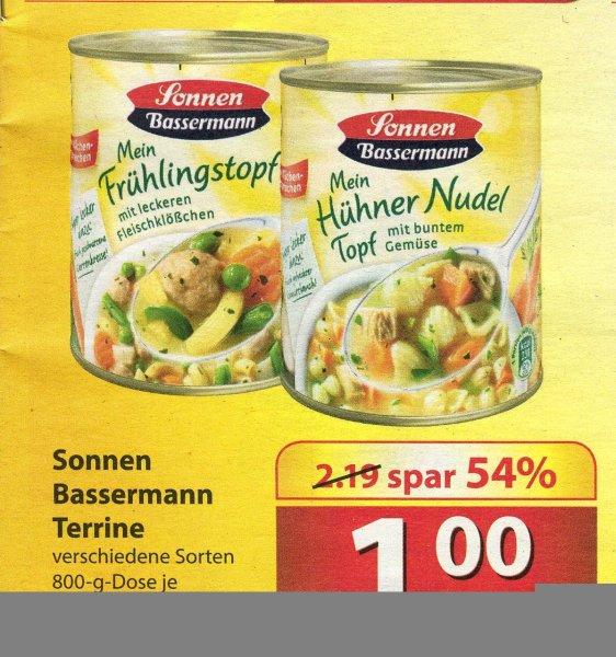 Sonnen Bassermann Eintopf 800 g nur 1 € [Famila NO]