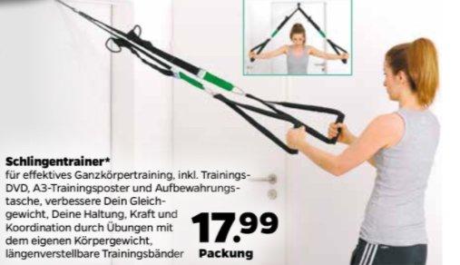Netto mit Hund - Schlingentrainer inkl. Trainings DVD und A3 Trainingsposter
