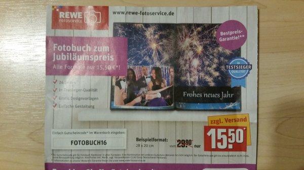 Jedes Fotobuch zum Jubiläumspreis nur 15.50€ zzgl. Versand