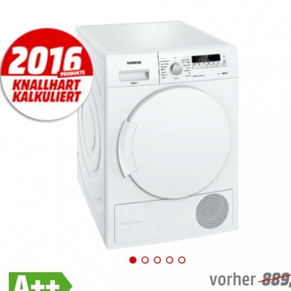 [MediaMarkt] SIEMENS WT43W260 Kondensationstrockner für 444€