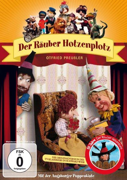 Amazon:DVD  Augsburger Puppenkiste - Der Räuber Hotzenplotz  - Nur 5,69 € ( Anbieter: pixelschubser24)