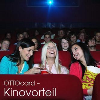 Täglich für 6,40 EUR ins Kino mit der OTTOcard