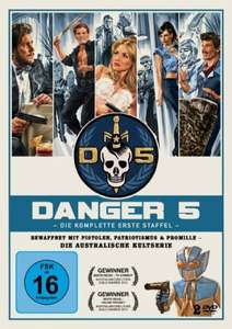 Amazon (Prime): Danger 5 - Staffel 1 (DVD, OmU)
