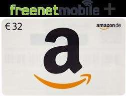 (Wieder da!) 32,00 EUR Amazon Gutschein für 3,90 EUR (bei Kauf von zwei Freemobile SIM Karten)
