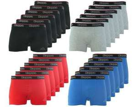 Kappa Monaco Boxershorts 3x2er Pack Unterhosen Herren Unterwäsche Boxer in diversen Farben für 21,95€ @ Allyouneed (Outlet46.de)