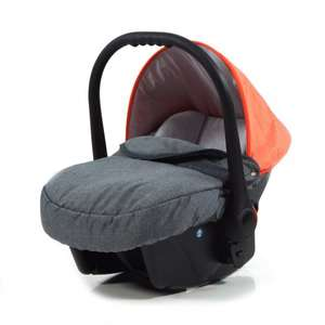 knorr-baby 3270-3 Autositz, Voletto Happy Colour, grau/orange Babyschale@Amazon.de 42,03 €