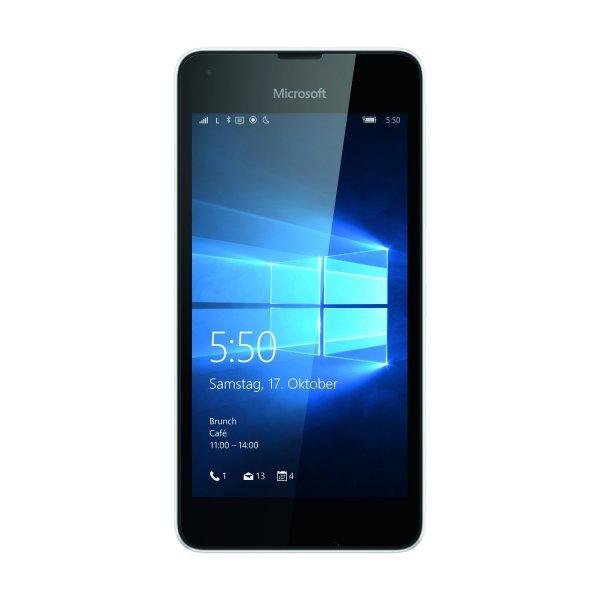 [Technik-Profis] Microsoft Lumia 550 LTE Smartphone schwarz EU Win 10