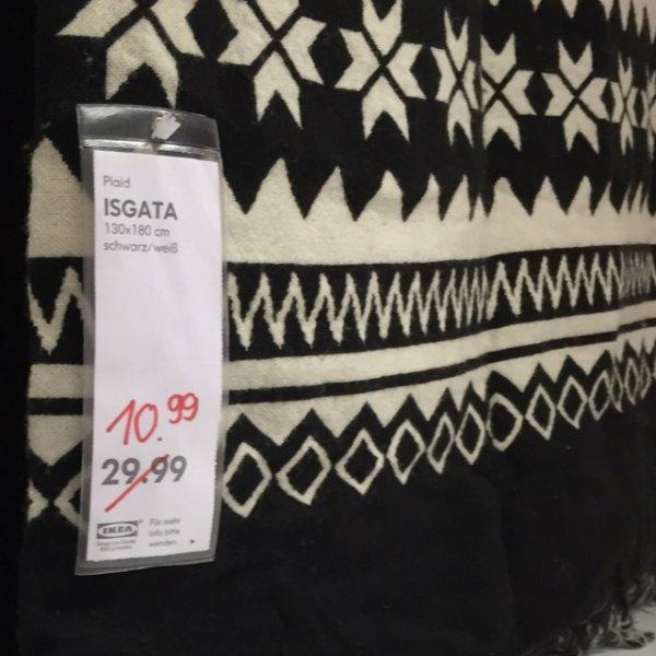 [lokal] Hannover Ikea ISGATA 130x180 Plaid