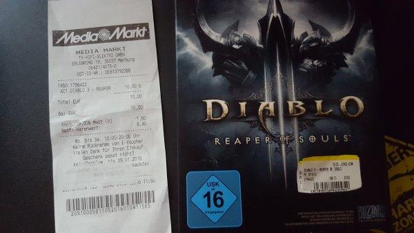 [LOKAL MediaMarkt Marburg] Diablo 3: Reaper of Souls (PC)