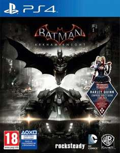 Batman: Arkham Knight (PS4 / Xbox One) für je 31,62€ bei Amazon.fr