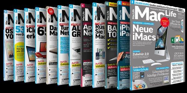 Zeitschrift MACLife als PDF (Digital) im Jahresarchiv 2015