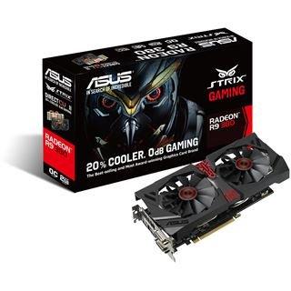ASUS STRIX R9-380 (ohne X) mit 2GB VRAM, 20€ Cashback möglich (~154,90€)