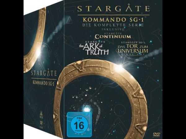 Stargate SG1 Komplette Box versandkostenfrei @Saturn.de