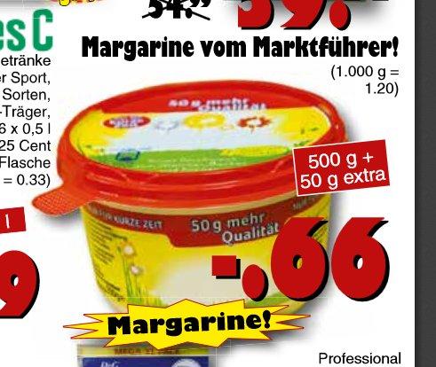 Rama Magarine 500g + 50g Gratis für 0,66€ bei Jawoll