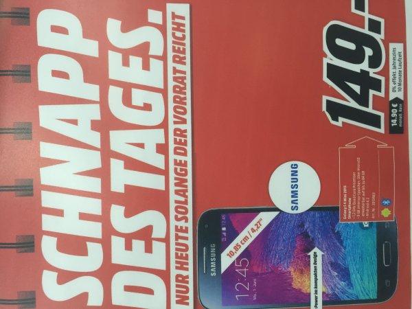 [Media Markt in Koblenz] Samsung S4 mini 149€