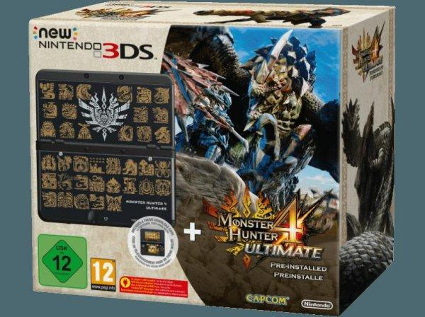 New Nintendo 3DS Monster Hunter 4 Ultimate Bundle + Tasche