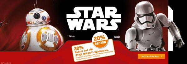 Müller 20% auf alle Star Wars Spielwaren