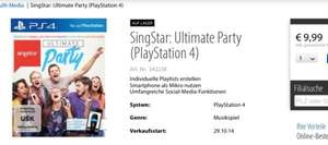 [Müller Online] Singstar Ultimate Party(PS4)