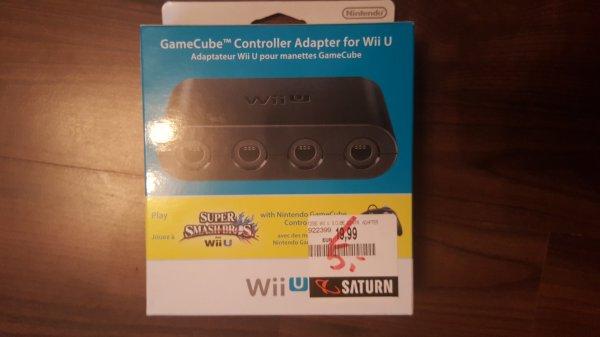 Lokal - münchen pep NINTENDO Wii U GameCube Controller Adapter