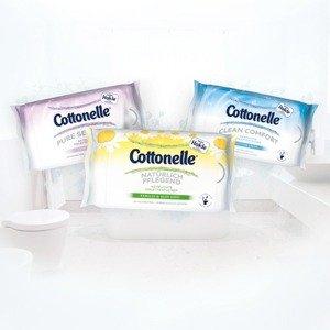 2x Cottonelle Feuchte Toilettentücher (Reisepackung insg. 2x12Stück) gratis + 0,48 Euro Gewinn