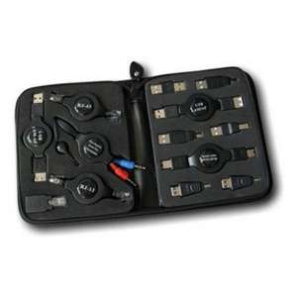 13-teiliges Adapter Set für PC+Notebook Netzwerk - USB  Firewire für 8,89 Euro inkl. Versand