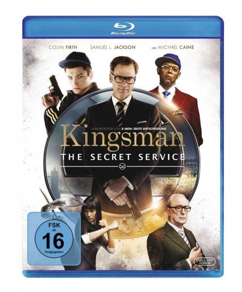 Kingsman - The Secret Service [Blu-ray] für 9,97€ bei Amazon.de (Prime)