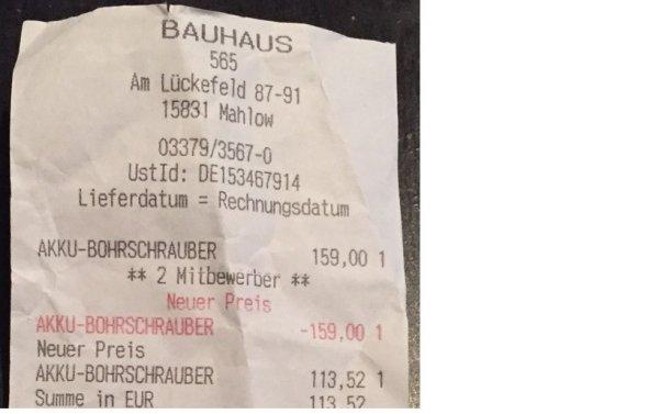 RYOBI RCD18022L, 2x1,5 Ah Lithium+ Akku-Bohrschrauber ( Lokal Berlin / Brandenburg ) 113,52€