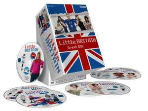 """[Amazon.de] Little Britain - Great BOX (Die komplette Serie mit den Staffeln 1-3 + Specials """"Abroad"""" und """"Live"""")[8 DVDs]"""